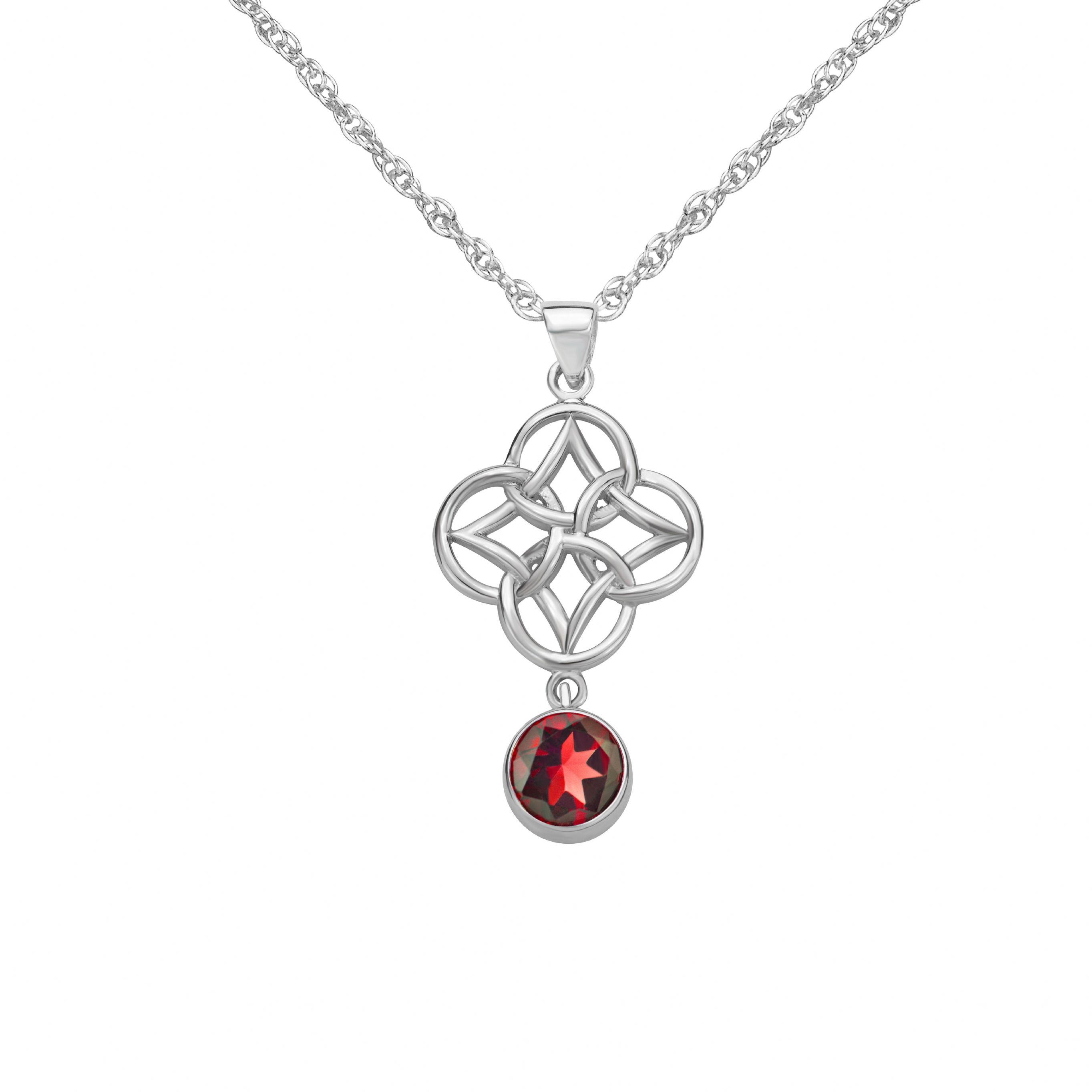 silver pendant product celtic necklace store knot legacy shop thunder sterling