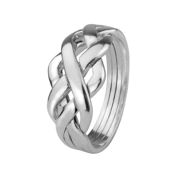 steel puzzle romantic valentines heart ring p rings shape couples titanium