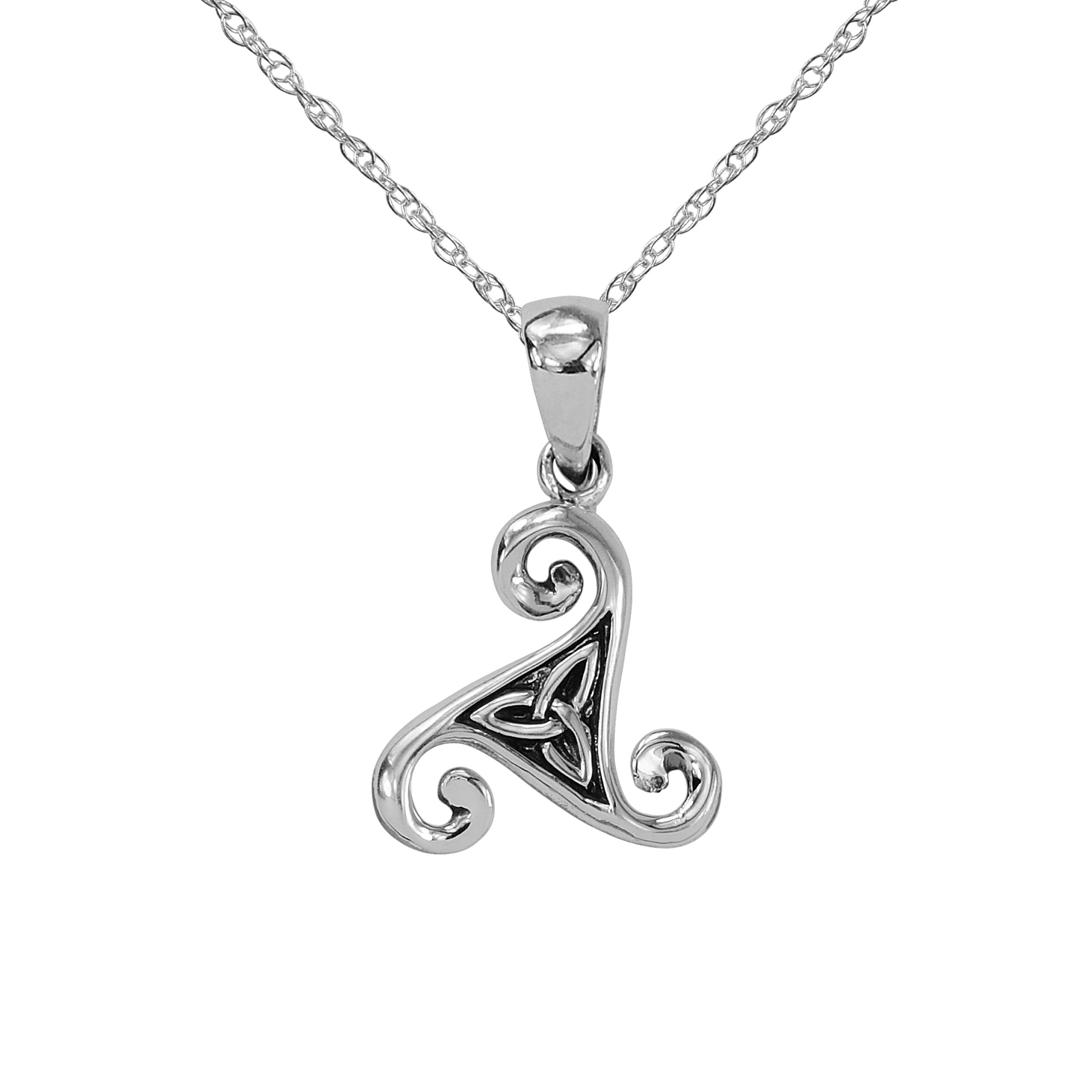 products steampunk pendant jewelry works celtic triskele knot
