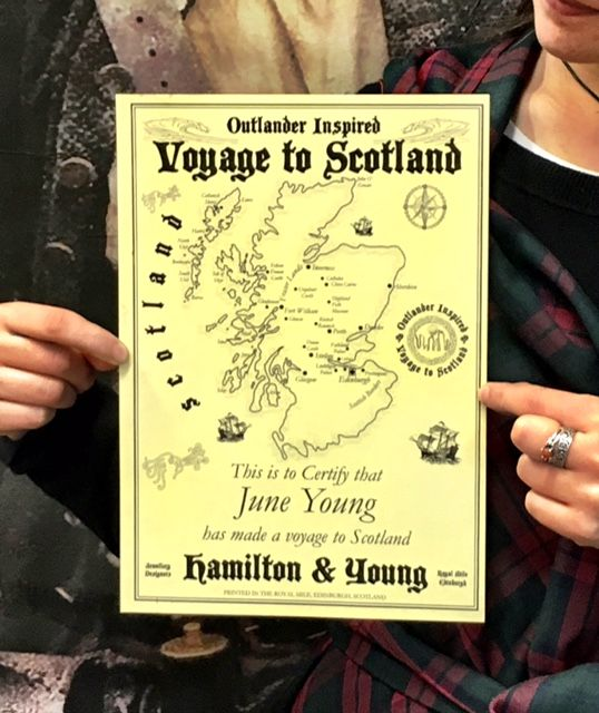 Free Voyage To Scotland Certificate