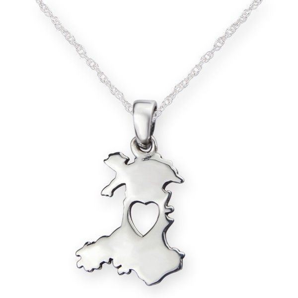 From the heart of wales silver pendant 9822 mozeypictures Images