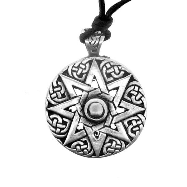 Celtic unisex pewter pendant evolving knot 0709 aloadofball Image collections
